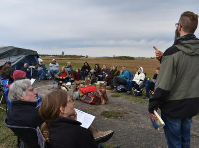 pipeline protest in solidarity
