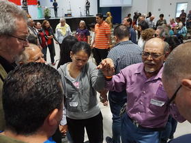 pray for the global Anabaptist family, renewal 2027, San Heredia, Costa Rica, April 2019.