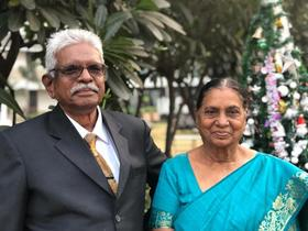 <p>Shant and Esther S. Kunjam. Photo: supplied</p>